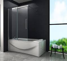 schiebetür duschtrennwand doze 120 x 150 badewanne