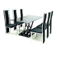 Glass Table For 6 Oval Dining Set Amazing Chairs Chair T Coffee 60 Gumtree