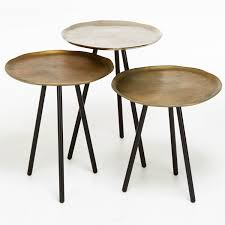 Metallic Nesting Tables – ABC Carpet & Home Nesting Tables Set Of 2 Havsta Gray Josef Albers Tables 4 Pavilion Round Set Zib Gray Piece Oslo Retail 3 Modern Reflections In Blackgold Two Natural Pine And Grey Zoa Nesting Tables Set Of Lack Black White Contemporary Solid Wood Maitland Smith Faux Bamboo
