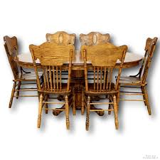 Oak Dining Table With 6 Chairs | Upscale Consignment Set Of 4 Georgian Oak Ding Chairs 7216 La149988 Loveantiquescom Chairs Steve Mckenna Woodworking Sold Arts Crafts Mission 1905 Antique Rocker Craftsman American Rocking Chair C1900 La136991 Amazoncom Belham Living Windsor Kitchen For Every Body Brigger Fniture Rare For Children Child Or Victorian And Rattan Wheelchair Chairish Coaster Reviews Goedekerscom 60s Saddle Leather Rocking Chair Barbmama Tortuga Outdoor At Lowescom