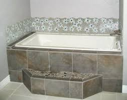 Tiling A Bathtub Deck by Tiled Bathtub Pmcshop