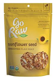 Go Raw Sprouted Pumpkin Seeds Bar by Go Raw