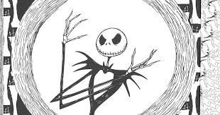 Item Of The Day This Nightmare Before Christmas Coloring Book Is Best