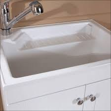 Mop Sink Faucet Dimensions by Furniture Marvelous Utility Faucet With Sprayer Plastic Wash Tub