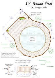 Stunning Deck Plans Photos by Stunning Above Ground Pool Deck Plans 650 X 920 559 Kb Jpeg