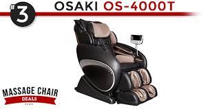 Osaki Os 4000 Massage Chair Assembly by Best Selling Massage Chairs Of 2016 Massagechairdeals Com