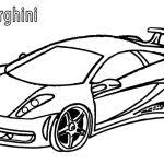 Elegant Lamborghini Coloring Pages 61 In Books With