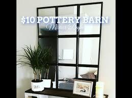 dollar tree pottery barn inspired mirrored wall decor