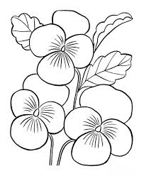 Large Spring Coloring Pages