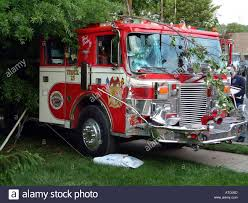 100 Fire Truck Accident Truck Accident In Oxon Hill Md Stock Photo 5316236 Alamy