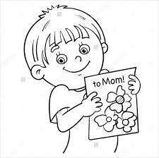 Coloring Book For Me Premium Download Mothers Day Pages Free Sample Example