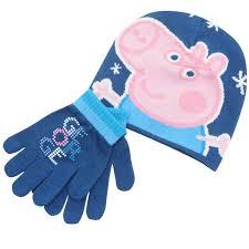 Peppa Pig George Pumpkin Stencil by Boys Licensed Peppa Pig George Pig Hat U0026 Gloves Set Costume