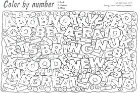 Number Coloring Pages For Adults Color By Numbers