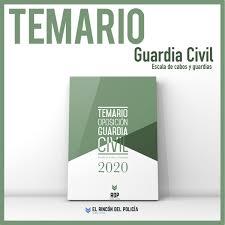 PreVenta Temario Oposición Guardia Civil 2020 ¡Actualizado
