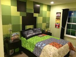 echtes minecraft schlafzimmer minecraft zimmer tapete