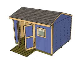 16x12 Shed Material List by Saltbox Shed Plans Storage Shed Plans