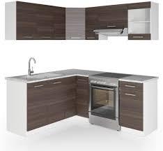 vicco küche rick l form küchenzeile küchenblock einbauküche 167x187cm anthrazit schrank module kombinierbar