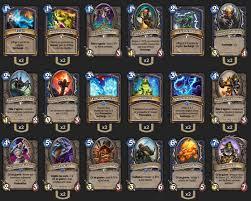 deck chaman midrange loe thijs hearthstone heroes of warcraft