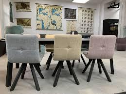 mobliberica marais esszimmer stühle im 6er set stoff bunt
