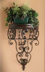 Buy Iron Wall Flower Stand Shelf Decoration Pot Holder Fashion Rustic In Cheap Price On Alibaba