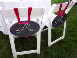Wedding Decorations Chalkboard Signs For Your Wedding Reception And ... 40 Pretty Ways To Decorate Your Wedding Chairs Martha Stewart Weddings San Diego Party Rentals Platinum Event Monogram Decorations Ideas Inside Tables And 1888builders Spandex Folding Chair Cover Lavender Padded Hire For Outdoor Parties In Sydney Can Plastic Look Elegant For My Ctc 23 Decoration White Galleryeptune Aisle Metal Unique Reception Seating