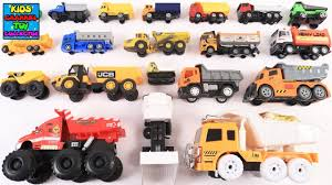 Learn Different Types Of Dump Trucks Or Tipper Trucks For Kids ...