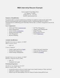 Internship Resume Examples Top 15 Objective And