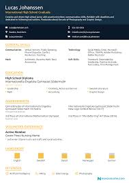 High School Resume 2018