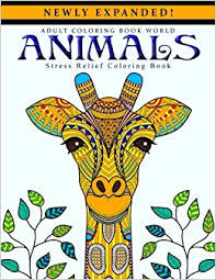 Amazon Adult Coloring Books Animals