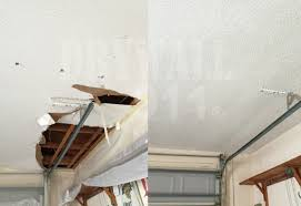Ceiling Material For Garage by Drywall Repair Services For Your Garage And Lanai Ceiling Repair