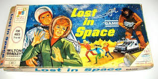 Vintage 1965 LOST In SPACE BOARD GAME 4631 Milton Bradley 100 Complete