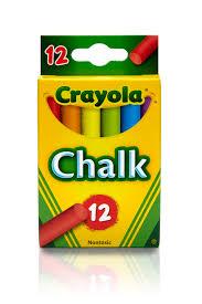 Crayola Multicolored Classroom Chalk, 12-count - Walmart.com
