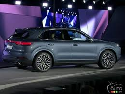 100 Porsche Truck Price The New 2019 Cayenne Has Arrived Car News Auto123