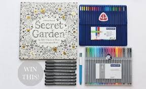 Secret Garden Pens And Pencils