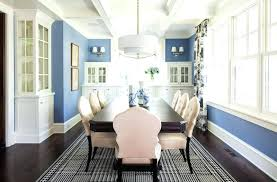 Blue Dining Room Interior Design Photos Ideas