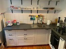 ikea küche mit tiefe arbeitsplatte