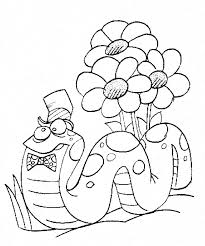 Free Coloring Pages Spring Kids Color