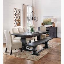 Black Distressed Dining Table Better Room Buffet Small Into