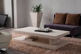 Living Room Table Sets With Storage modern marble coffee table