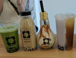 what is your review of instagram popular boba caf礬 square bar