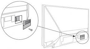 Sony Kdf E50a10 Lamp Door by Sony Xl 2400 Lamp U0026 Housing Slider Product