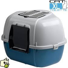 box toilette anti odeurs pour litiere de chat