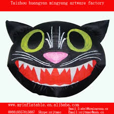 Inflatable Halloween Cat Archway inflatable black cat head for halloween inflatable black cat head