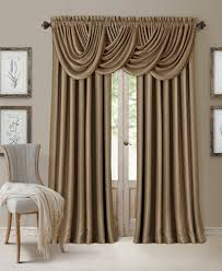 Macys Decorative Curtain Rods by Elrene All Seasons Faux Silk Blackout Window Panel Collection