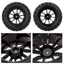 GoolRC 4Pcs High Performance 1/10 Monster Truck Wheel Rim And Tire ...