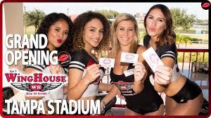 100 Wing House Kers Tampa Stadium SIBabes Shoutout YouTube