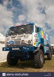 Goodwood Festival Of Speed 2015 Kamaz Red Bull Truck Stock Photo ...