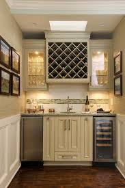 Wet Bars For Home Bar Traditional With White Wainscoting