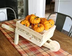 Diy Tabletop Rustic Wheelbarrow Mini Pumpkins
