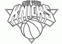 Nba Coloring Pages New York Knicks